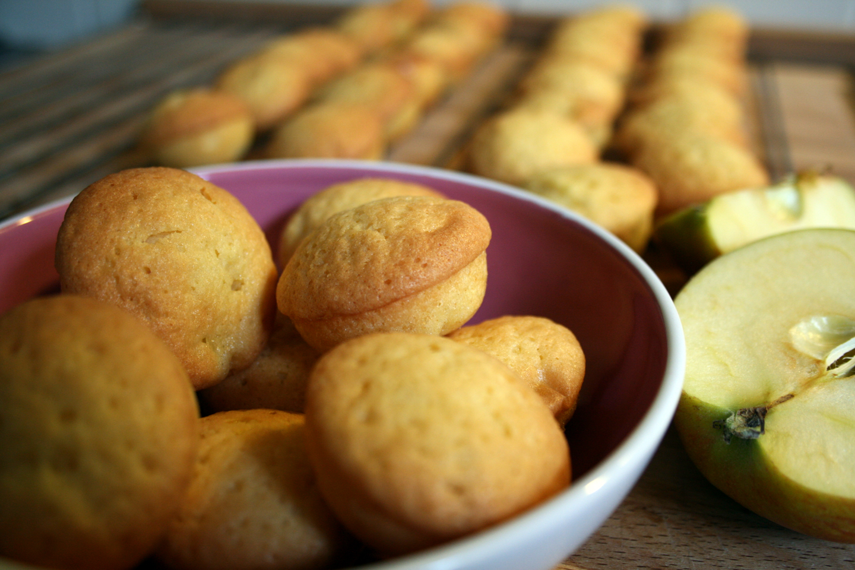 Hapklare appelcakejes, ideaal voor bij de koffie of thee.